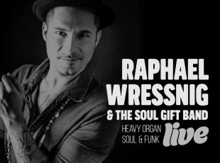 21 OTT 16 / RAPHAEL WRESSNIG & THE SOUL GIFT BAND